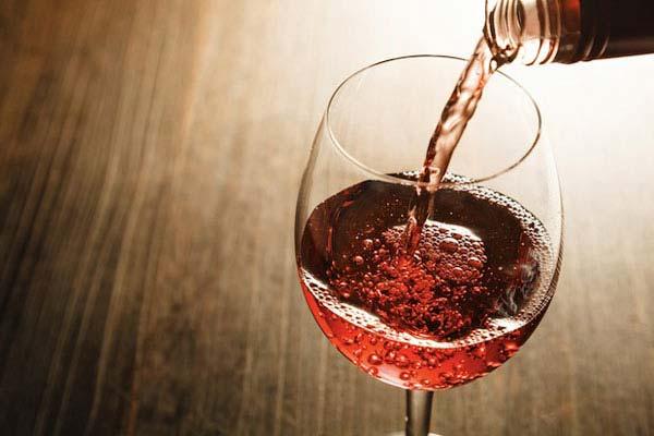 Bombones rellenos de vino