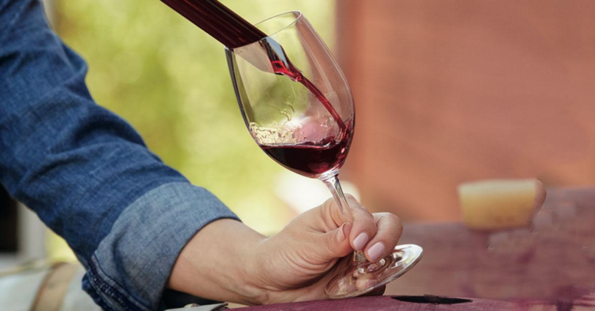 cómo limpiar las copas de vino