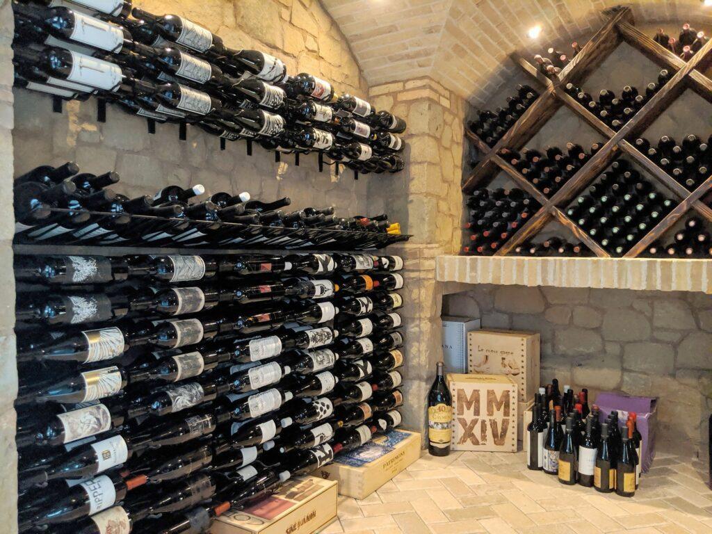 Bodega de vinos personalizada