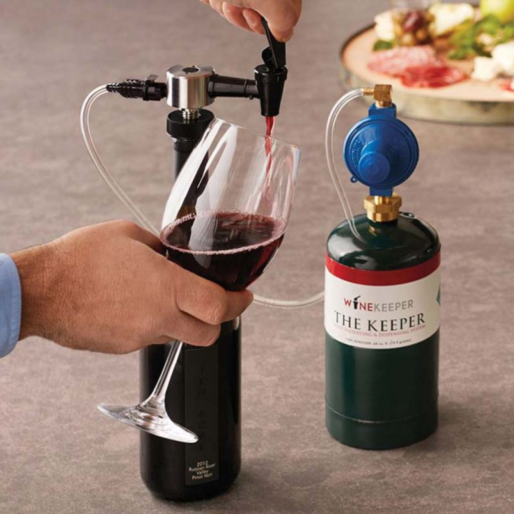 almacenamiento de vino