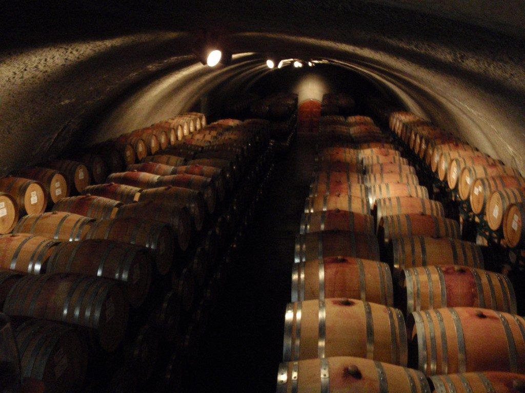 cuevas subterráneas de vino