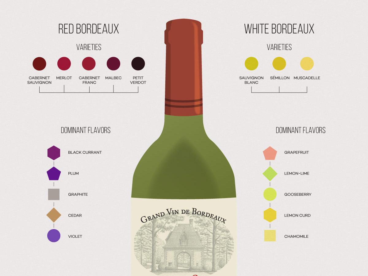 Vino de Burdeos 101: los vinos y la región |  Locura del vino