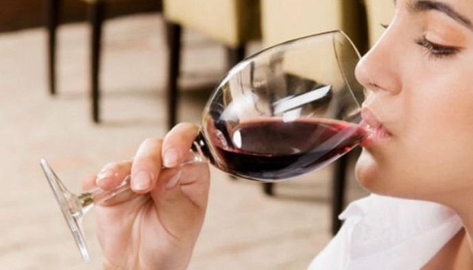sabores en el vino