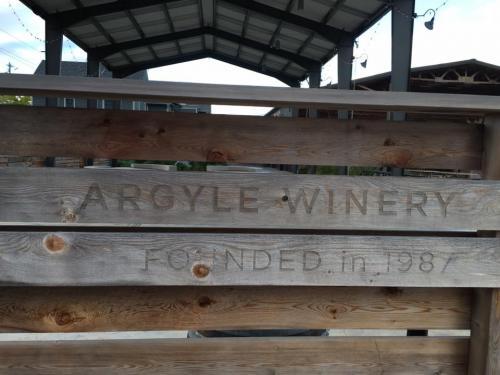 Firmar en la bodega Argyle