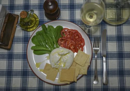 Burrata y Sauvignon Blanc