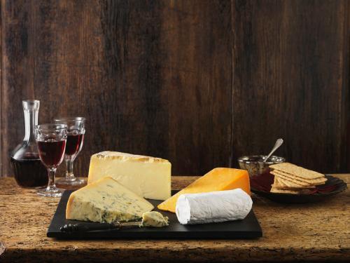 Oporto rubí y queso azul