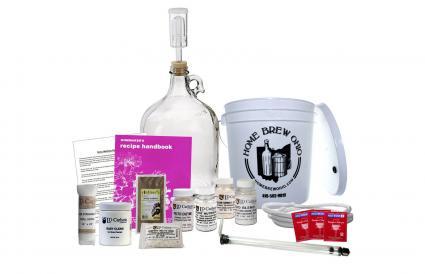 kit de elaboración de vino