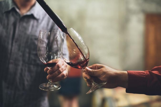 cata de barril de vino