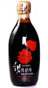 Jinro Bok Bun Ja Joo vino de frambuesa coreano de Ace Spirits