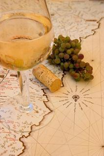 Mapa de vinos de California