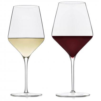 Juego de copa de vino para vinos tintos y blancos