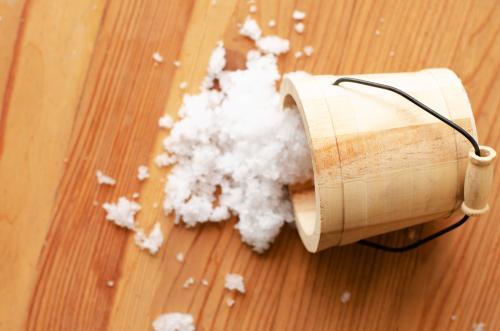 Cubo de sal