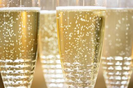 Flautas de champán