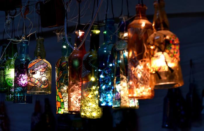 Decoración del hogar de luces colgantes