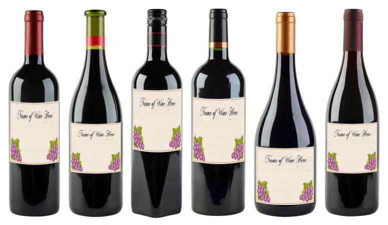 ¡Agregue sus propias etiquetas de vino!