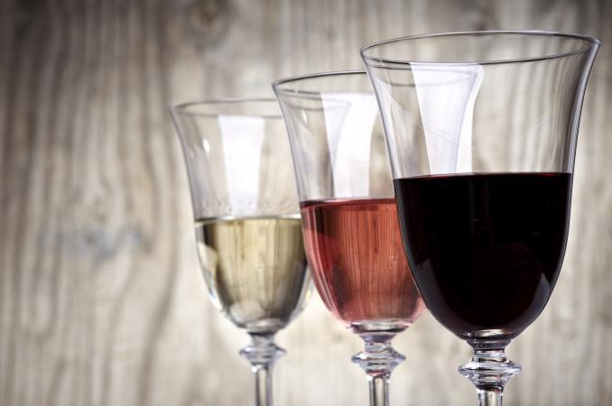 Trio de vinos