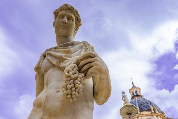 Dioniso, dios del vino