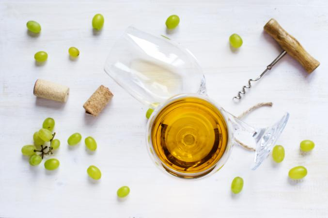 Copas de chardonnay