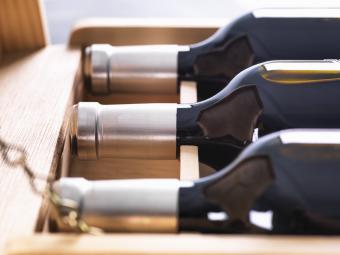 Vino recién embotellado
