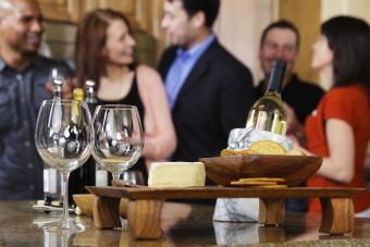 galletas de vino y queso