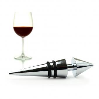 tapón de vino y vino tinto
