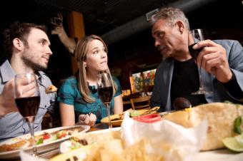 comida mexicana y vino