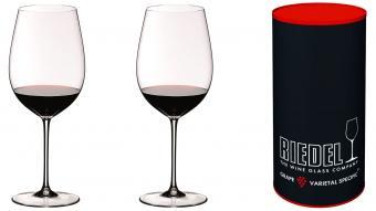 Copa de vino Riedel Sommeliers Bordeaux Grand Cru.Juego de 2