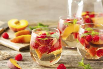 Vino con frutas