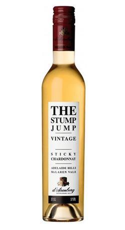 d'Arenburg The Stump Jump Chardonnay pegajoso