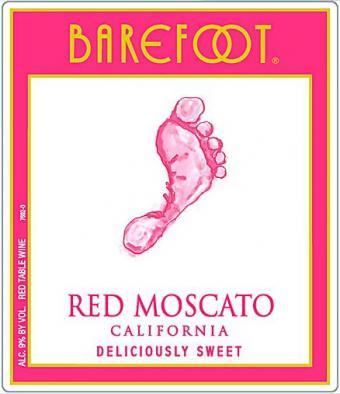 Moscato rojo descalzo